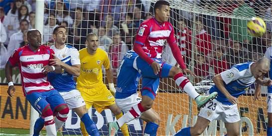 Jeison Murillo regresó a los entrenamientos del Granada