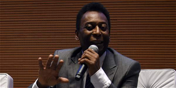 Pelé, exfutbolista brasileño y campeón del mundo.