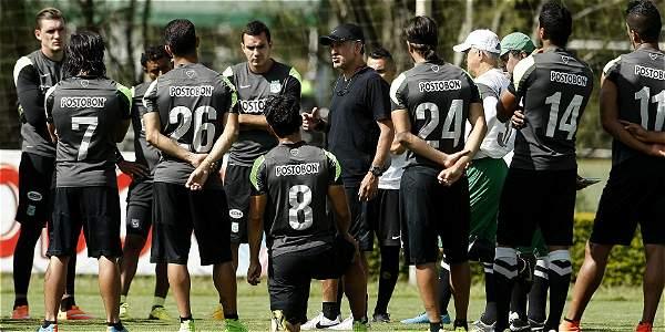 Al mando de Juan Carlos Osorio (centro), Atlético Nacional está listo para buscar su primer título en la Copa Suramericana.