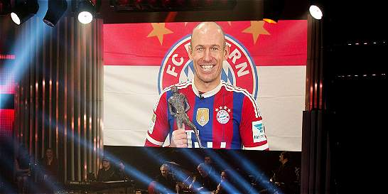 Robben, nombrado deportista del año en Holanda