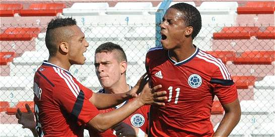 Colombia ganó 3-1 a Perú y llegó a 5 puntos en el hexagonal del Sub-20