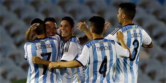 Goleada de Argentina a Paraguay clasifica a Colombia al Mundial Sub-20