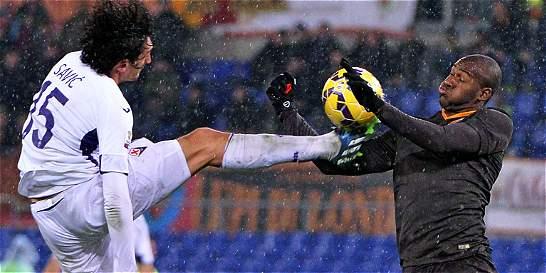 Víctor Ibarbo se lesionó: cinco semanas sin jugar con el AS Roma