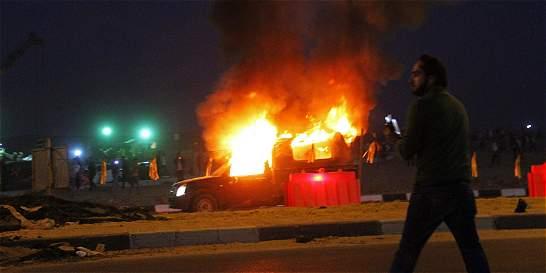 Al menos 22 muertos en choques entre hinchas y policías, en El Cairo