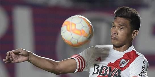 Teófilo Gutiérrez no estará con River Plate en la Copa Libertadores