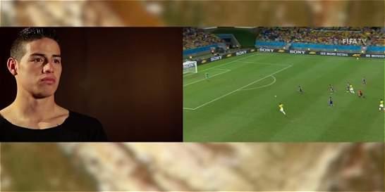James recordó los mejores momentos del Mundial de Brasil 2014