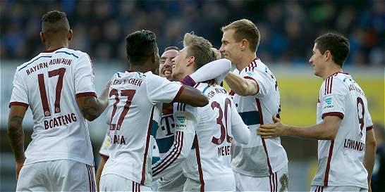Bayern Múnich volvió a golear: 0-6 a Paderborn