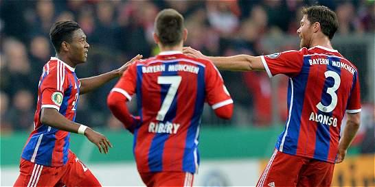 Bayern pasó a cuartos de la Copa de Alemania, sin problemas