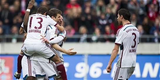 Bayern ganó y se acerca al título en la Bundesliga