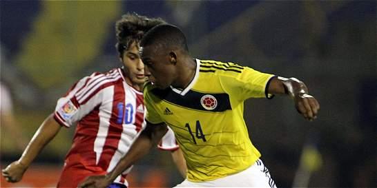 Colombia Sub-17 igualó 1-1 con Paraguay y clasificó al hexagonal final