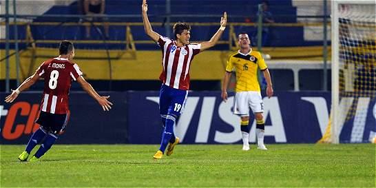 La Selección Colombia Sub-17 fue goleada 4-0 por Paraguay