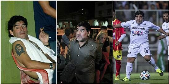 En fotos: Los escándalos de Diego Armando Maradona