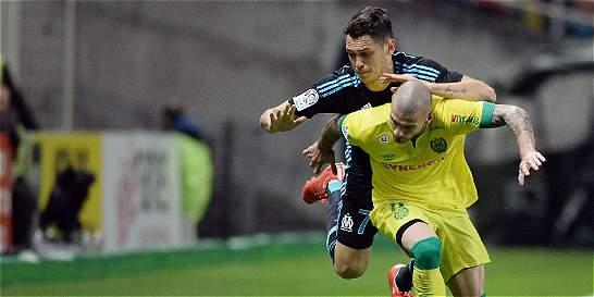 Nantes venció 1-0 a Marsella, que sumó su tercera derrota consecutiva