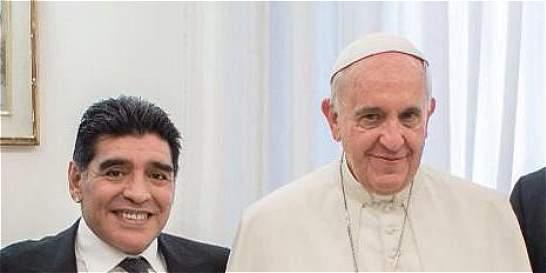 'El primer hincha del papa Francisco soy yo': Diego Maradona