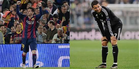 Messi marcó diferencia con Cristiano en el comienzo de la semifinal