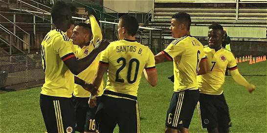 Colombia Sub-20 venció 3-1 a México en partido amistoso
