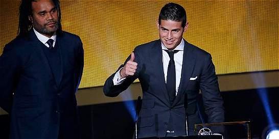 'A James ninguna camiseta le queda grande': Jorge Valdano