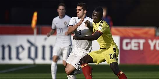 Colombia perdió, pero avanzó a los octavos del Mundial Sub-20