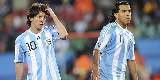 Sin Messi y Tévez, Argentina hizo su primer entrenamiento en Chile