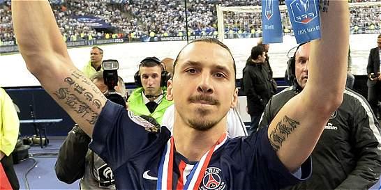 Ibrahimovic desmintió que dejaría al PSG por AC Milán