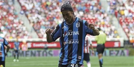 Ronaldinho no seguirá en el Querétaro de México