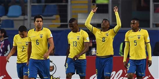 Ecuador quedó fuera de la Copa tras el empate entre Colombia y Perú