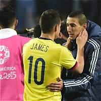 Así jugó Colombia en el 0-0 contra Argentina