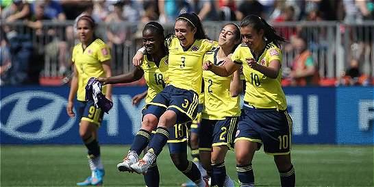 La Selección Colombia femenina es 25 en el escalafón Fifa