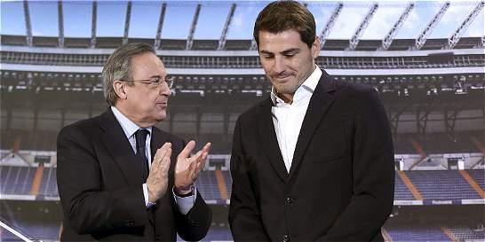 'Iker nos deja porque ese fue su deseo', afirmó Florentino Pérez