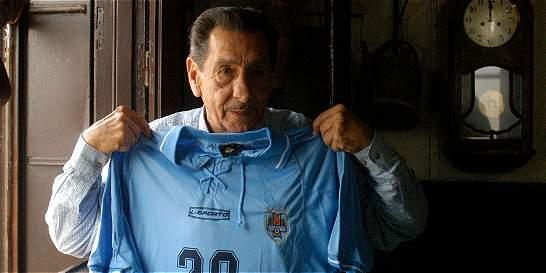 Murió Alcides Ghiggia, el autor del gol del 'Maracanazo'