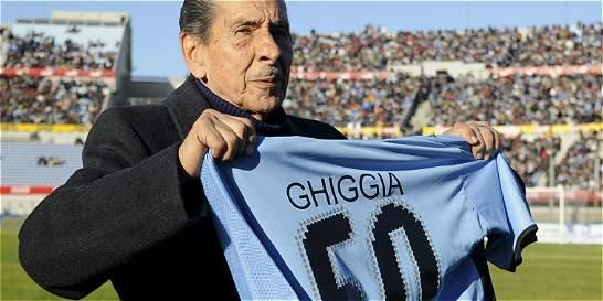 Se fue Alcides Ghiggia, el último héroe del 'Maracanazo'