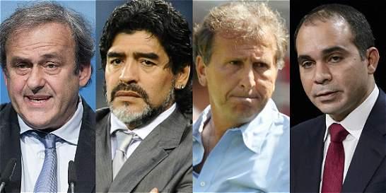 Platini, Maradona, Zico o Ali: se busca presidente para la Fifa