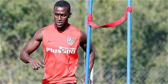 Jackson ya comenzó a marcar goles en las prácticas del Atlético