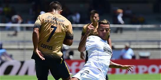 Con Cardona y Medina en la cancha, Monterrey cayó 3-0 con Pumas