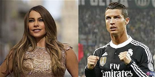 Cristiano Ronaldo y una fiel seguidora: Sofía Vergara