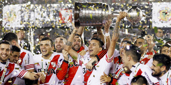 River supo caer para después levantarse y ganar la Libertadores
