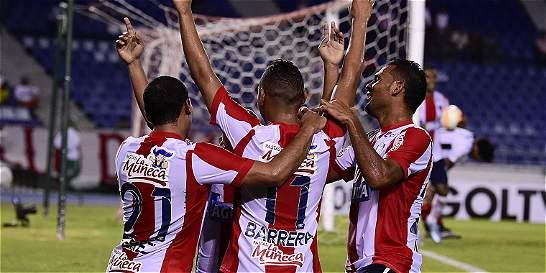 Junior fue una aplanadora: 5-0 sobre Melgar en la Suramericana
