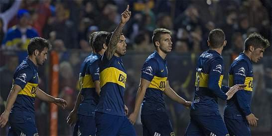 Boca venció a Godoy Cruz y es líder en Argentina con San Lorenzo