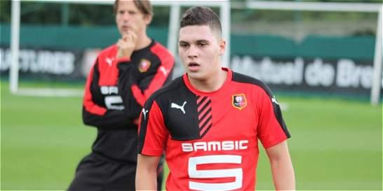 'El Rennes me ha dado su confianza y estoy feliz de venir': Quintero