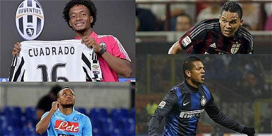Jugadores colombianos, entre los que más ganan en la Liga de Italia