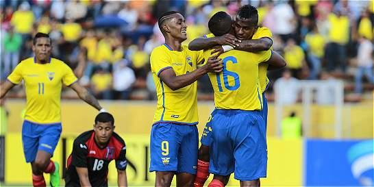 Ecuador venció 2-0 a Honduras en el amistoso previo a la eliminatoria