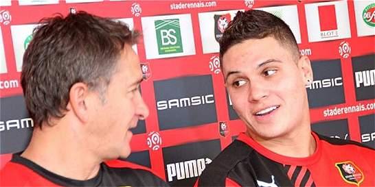 Juan F. Quintero empezó a mostrar su talento en prácticas con Rennes