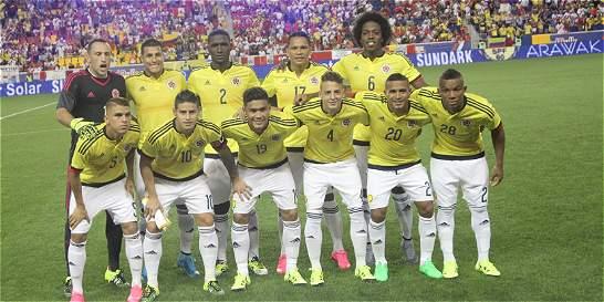 Selección Colombia es quinta en la clasificación de la Fifa