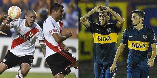 River espera recuperación de Maidana y Boca por Pérez, para el clásico