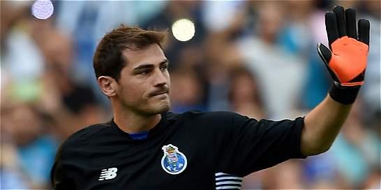 Iker Casillas debutó en Liga de Campeones hace 16 años