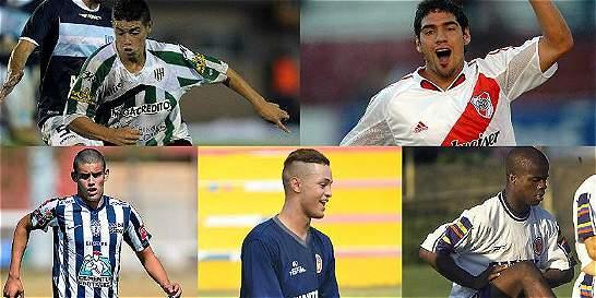 Los futbolistas colombianos más jóvenes en debutar en el exterior