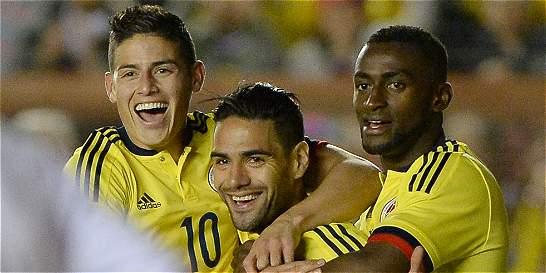 La Selección Colombia es octava en la clasificación de la Fifa