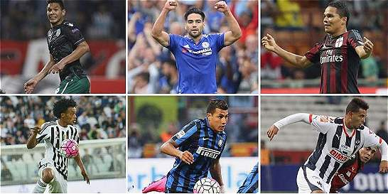 La agenda del fin de semana de los 25 jugadores de Selección Colombia
