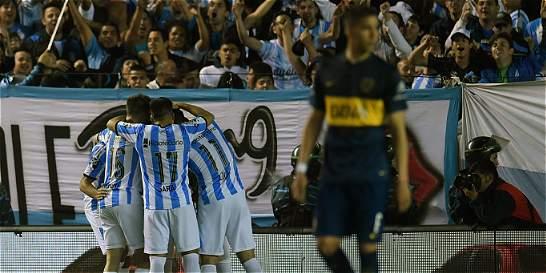 Boca Juniors perdió 3-1 con Racing y no se pudo coronar en Argentina