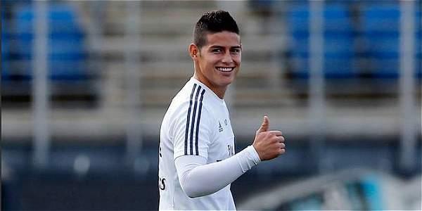 Real Madrid no quiere que James venga a la Seleccion Colombia